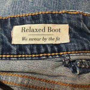 torrid Jeans - Torrid distressed relaxed cut jeans